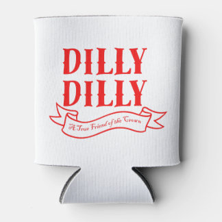 Dilly Dilly mettent en boîte le glacière (rouge)
