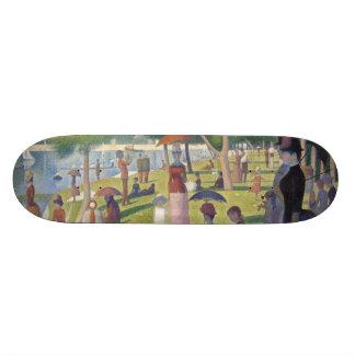 Dimanche après-midi sur l'île de la La grand Jatte Plateau De Skateboard