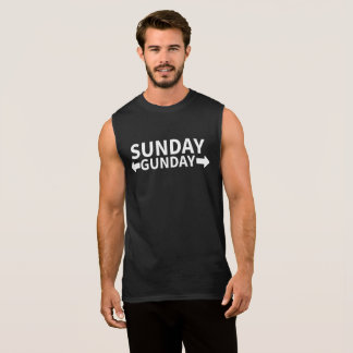 Dimanche Gunday T-shirt Sans Manches