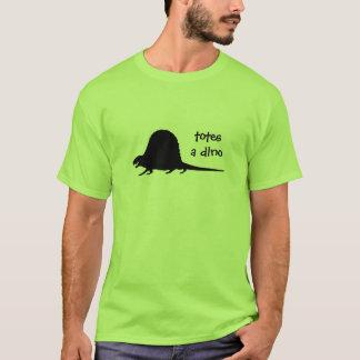Dimetrodon est des emballages par T-shirt de Dino