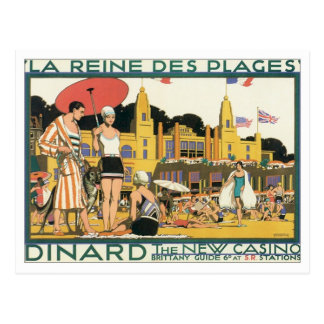 Dinard vintage Hollande Carte Postale
