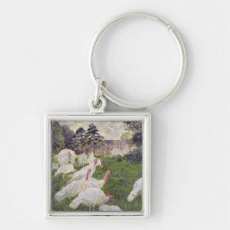 Dindes de Claude Monet | chez Chateau de Porte-clé Carré Argenté