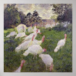 Dindes de Claude Monet | chez Chateau de Poster