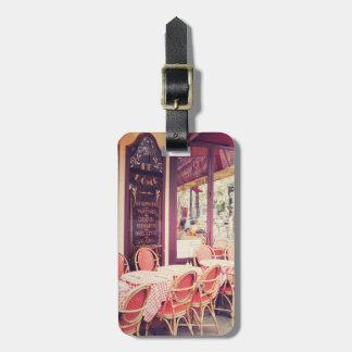 Diner dans le fresque d'Al de Paris Étiquettes Bagages