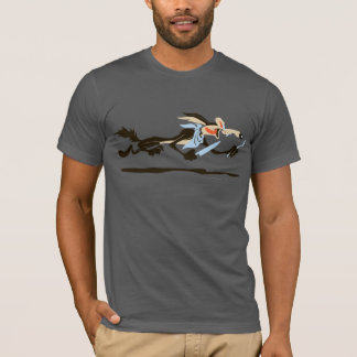 Dîner d'E. Coyote Chasing de Wile T-shirt