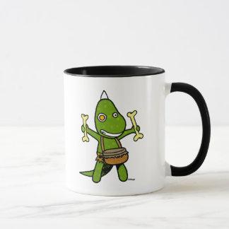 Dino fou mug