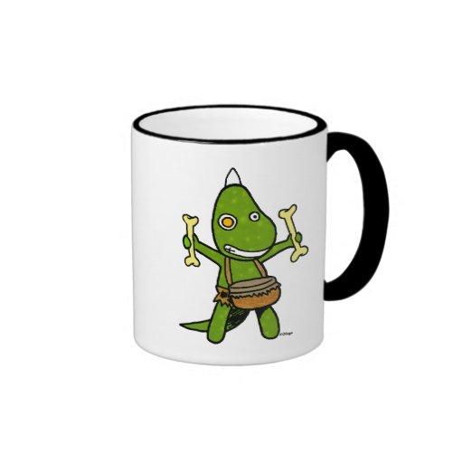 Dino fou tasses à café