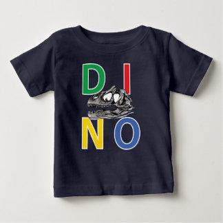 DINO - T-shirt du Jersey d'amende de bébé de bleu