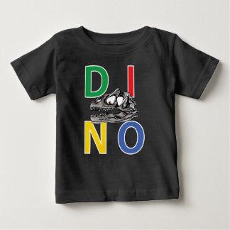 DINO - T-shirt noir du Jersey d'amende de bébé
