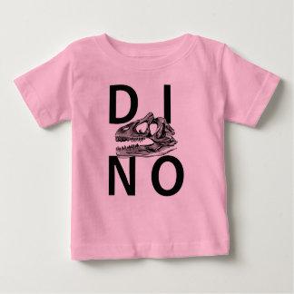 DINO - T-shirt rose du Jersey d'amende de bébé