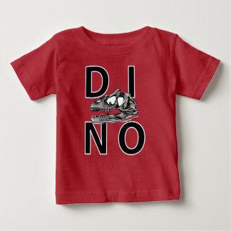 DINO - T-shirt rouge du Jersey d'amende de bébé