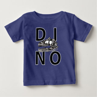 DINO - T-shirt royal du Jersey d'amende de bébé