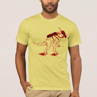 DinoMask - rouge T-shirt