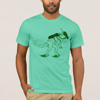 DinoMask - vert T-shirt