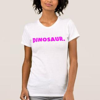 """""""Dinosaure blanc."""" Dessus de réservoir avec le T-shirts"""
