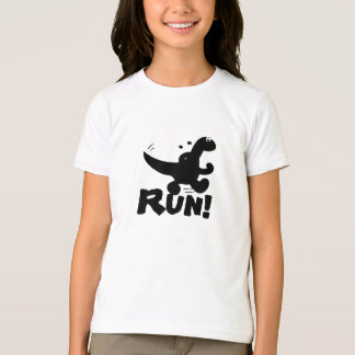 Dinosaure courant t-shirt