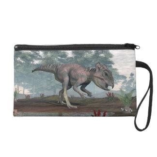 Dinosaure d'Archaeoceratops Sacs À Main Avec Dragonne