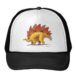 Dinosaure de bande dessinée de Stegosaurus de Casquette