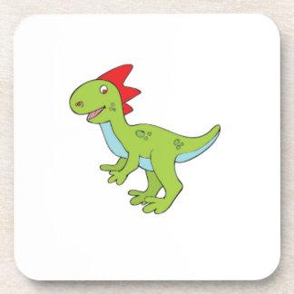 dinosaure de rex de lézard dessous-de-verre