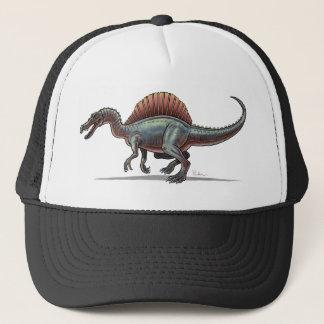 Dinosaure de Spinosaurus de casquette de baseball