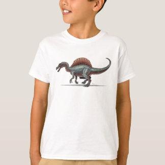 Dinosaure de Spinosaurus de T-shirt d'enfants