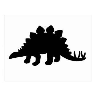 Dinosaure de Stegosaurus Cartes Postales