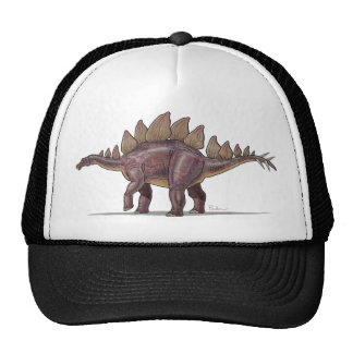 Dinosaure de Stegosaurus de casquette de baseball