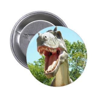 Dinosaure de T-Rex de Tyrannosaurus Badges