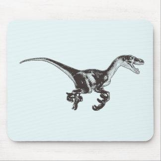 Dinosaure Mousepad de Velociraptor Tapis De Souris