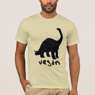 Dinosaure végétalien t-shirt