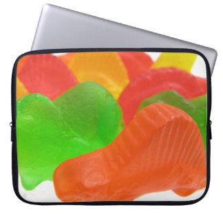 Dinosaures de sucrerie protection pour ordinateur portable