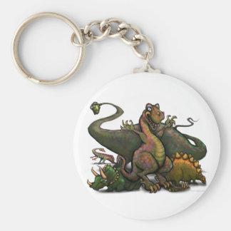 Dinosaures Porte-clé Rond