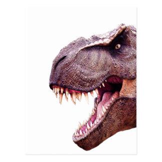 Dinosaures T-Rex Carte Postale