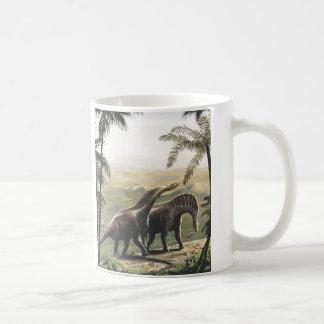 Dinosaures vintages, Amargasaurus avec des Mug