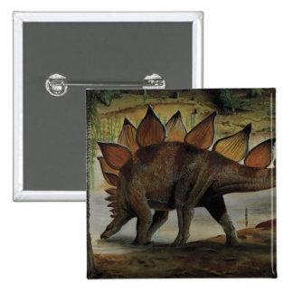 Dinosaures vintages, Stegosaurus, queue avec des Badge