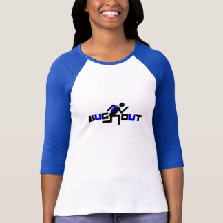 D'INSECTE sports de BLEU de coureur T-shirt