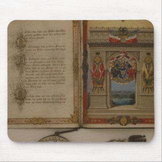 Diploma de prince investissant Otto von Bismarck Tapis De Souris