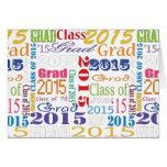 Diplômé 2015 carte de vœux