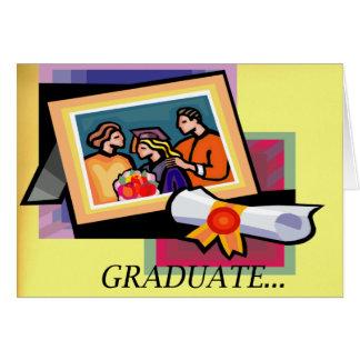 Diplômé… Carte de félicitations