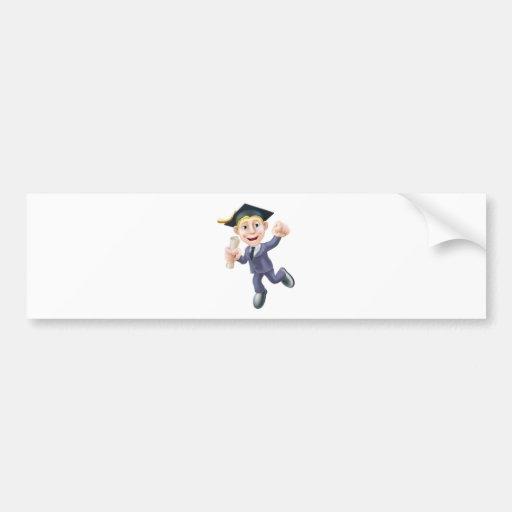 Diplômé d'affaires autocollants pour voiture