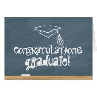 Diplômé de félicitations cartes