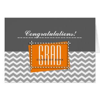 Diplômé de félicitations. Cartes faites sur