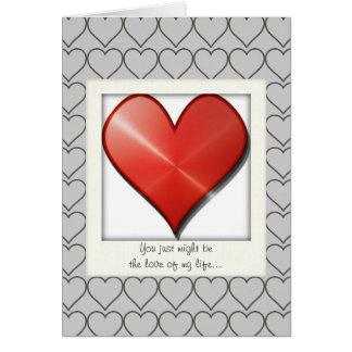 Dire au revoir la carte pour les amants croisés