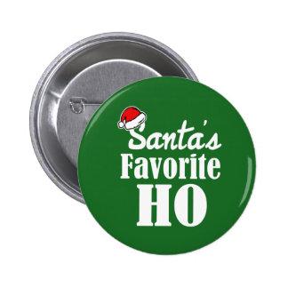 Dire drôle de Noël du favori de Père Noël Ho Badge