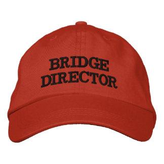 DIRECTEUR CAP DE PONT CASQUETTE BRODÉE