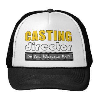 Directeur de casting casquette de camionneur