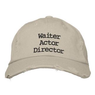 Directeur La La Land Hat d'acteur de serveur Casquette Brodée