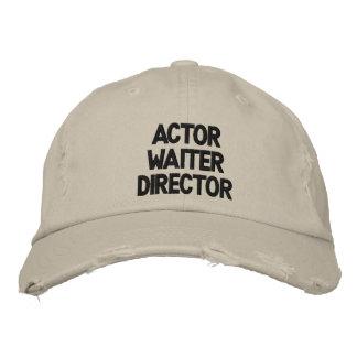 Directeur La La Land Hat de serveur d'acteur Casquette Brodée