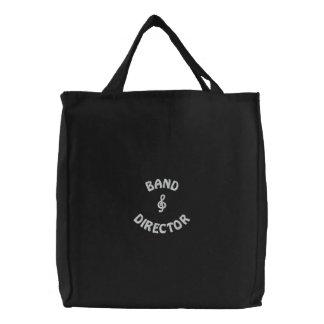 Directeur Music Bag de bande Sac Brodé