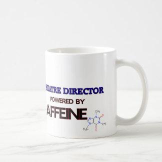 Directeur Powered de théâtre par la caféine Mug